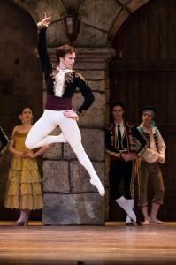 Corps de Ballet Member Etienne Diaz (as Basilio) in DON QUIXOTE.  By Alexander Iziliaev By Alexander Iziliaev