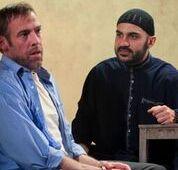 Ian Merrill Peakes (L) & Maboud Ebrahimzadeh (R)