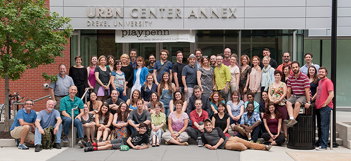 Entire PlayPenn team, 2015.