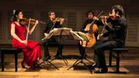 BELCEA STRING QUARTET in recital at Princeton University