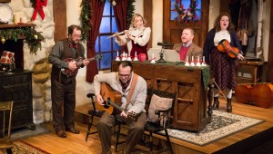 Cast of Dylan Thomas' A Child's Christmas In Wales at Walnut Street Theatre. Photo by Mark Garvin.