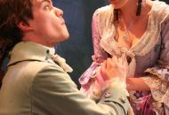 Megan Farley with Sean Lynch (left) in a production of THE FAIRY QUEEN.