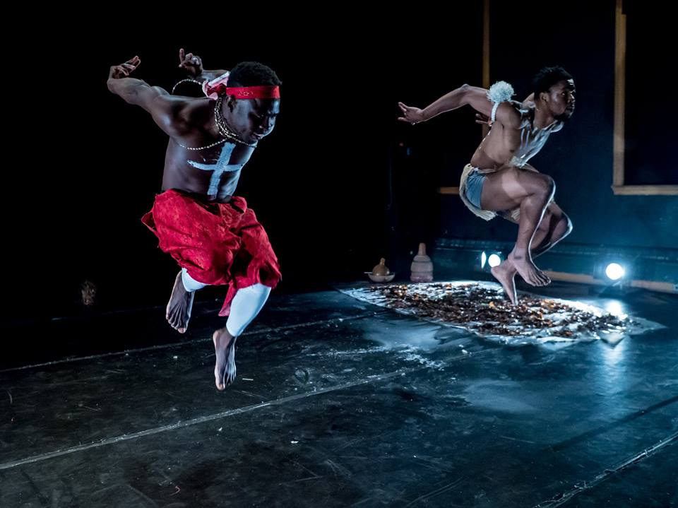 Chris Babingui and Nano Lenaud Loubayi in EVENING OF DUETS.