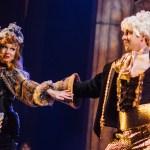 Julianna Babb as Babette and JP Dunphy as Lumiere. Credit_ Alex Medvick