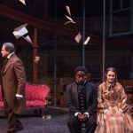 David Ingram, James Ijames, and Charlotte Northeast in THE BROWNINGS. Photo by Plate 3 Photography.