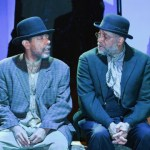 Frank X and Johnnie Hobbs, Jr., in WAITING FOR GODOT from Quintessence. Photo by Shawn May.