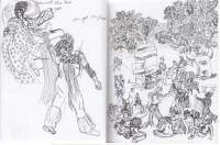 Theater in Sketch: TWELFTH NIGHT (Shakespeare in Clark Park)