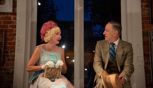 Tina Brock and John Zak in ECCENTRICITIES OF A NIGHTINGALE. Photo by Johanna Austin Art.