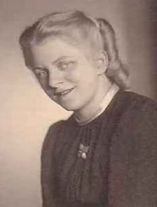 Margaret Hatting, Christmas 1945, suspicious of the former enemy, met the lonely young US soldier in uniform outside her church