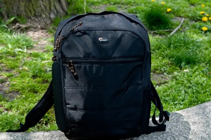 The Lowepro CompuDay 250 backpack