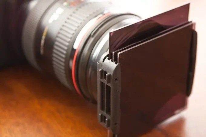 Cokin Filters Attached