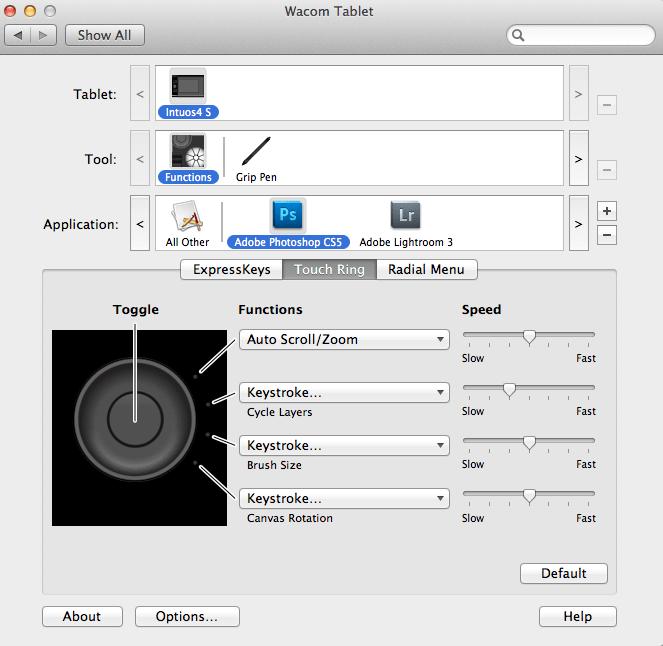 Intuos4 Software