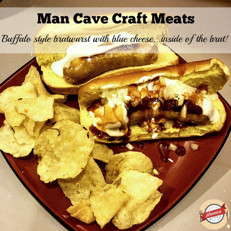 Man Cave Craft Eats Bratwurst : I ll have what she s having  through