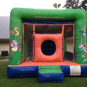 Jungle bouncy rental