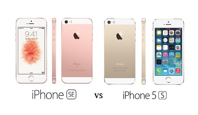 Apple Iphone Se Vs Apple Iphone 5s Smartphone Comparison