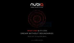 Nubia sends Invites for Bezel-less Smartphone Launch at IFA 2016