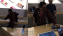 Angry French Customer Smashes 14 New iPhones and a Macbook with a Steel Ball – VIDEOs