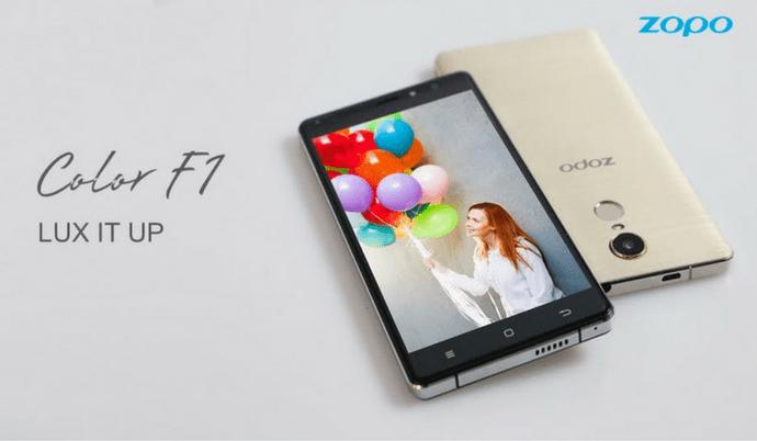 Zopo Mobile Launches ZOPO Color F1
