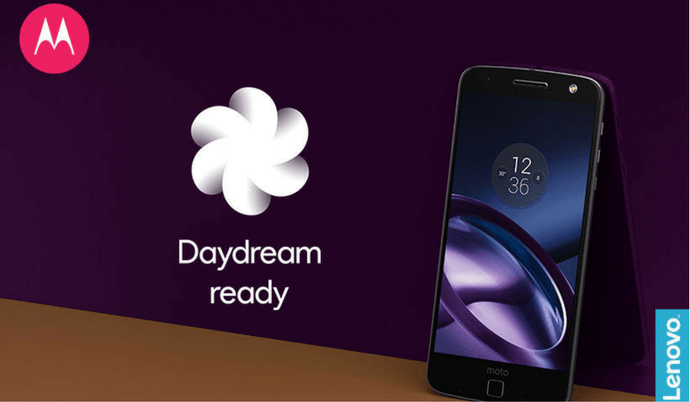 Surprise! Moto Z gets Android Nougat update with Google Daydream