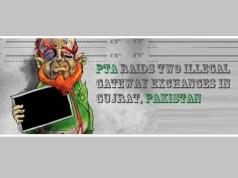 PTA Raids Two Illegal Gateway Exchanges in Gujrat, Pakistan