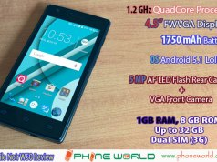QMobile Noir W50 Specifications