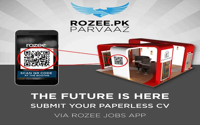 Now Submit your Paperless CV via Rozee Jobs App