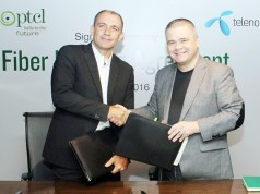 PTCL signs Fiber Leasing Agreement with Telenor Pakistan