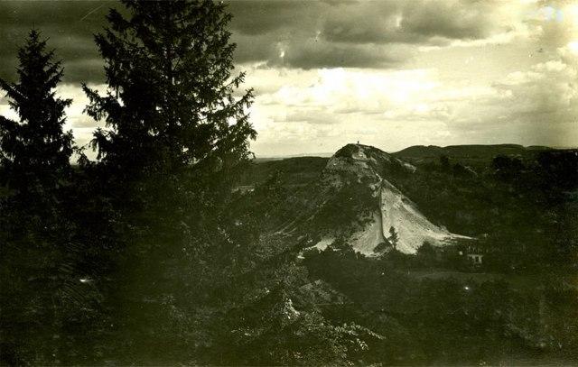 Вид на гору князя Лева, 1930 - 1931 рр.