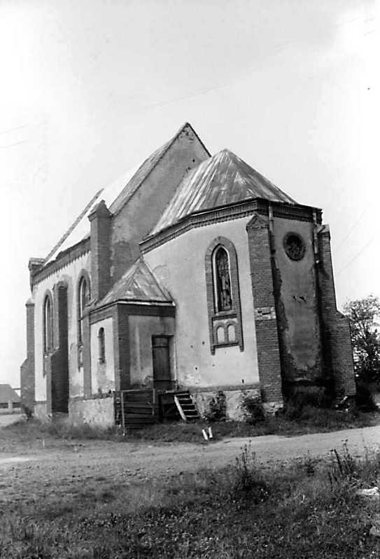 Петропавлівський парафіяльний костел села Поляни, фото 1990 року