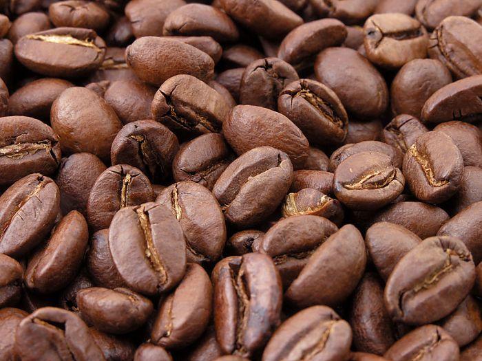 Смажені кавові боби.