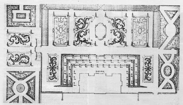 План впорядкування митрополичих садів Клеменса Фесінгера, 1771 рік