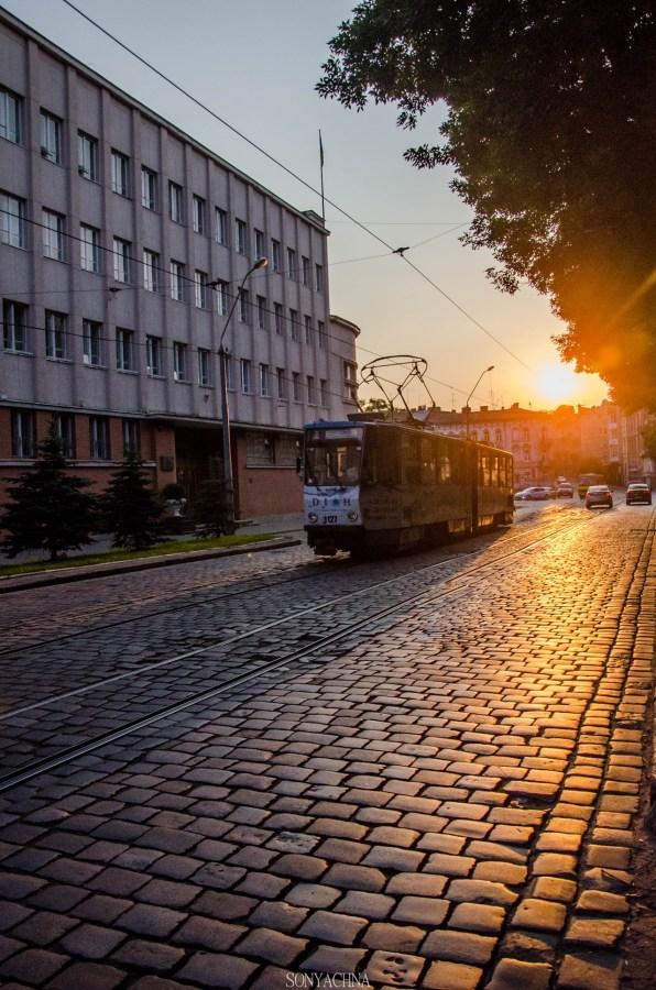 Львів передвечірній