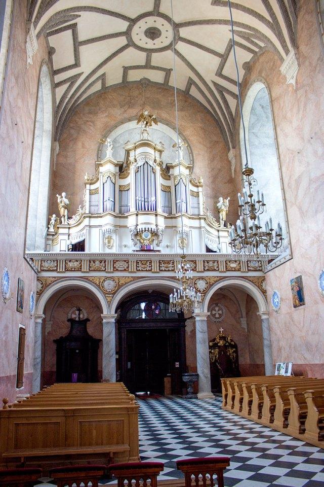 Орган костелу Святого Лаврентія в Жовкві