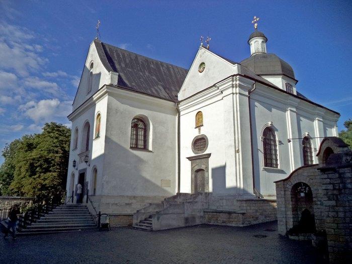 Церква при монастирі святого Онуфрія у Львові, настоятелем якого у 1896-1899 роках був Андрей Шептицький