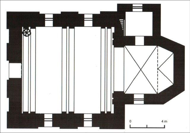 План костелу Св. Софії