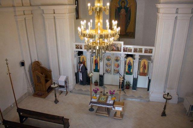 Головний вівтар храму Св. Софії фото 2015 р.