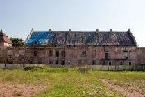 Внутрішнє подвір'я замку в Жовкві