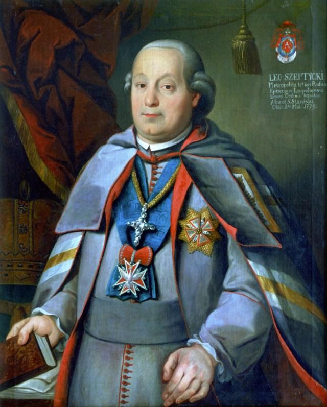 Єпископ Лев (Шептицький), який рекомендував Ангеловича на навчання в Барбареум
