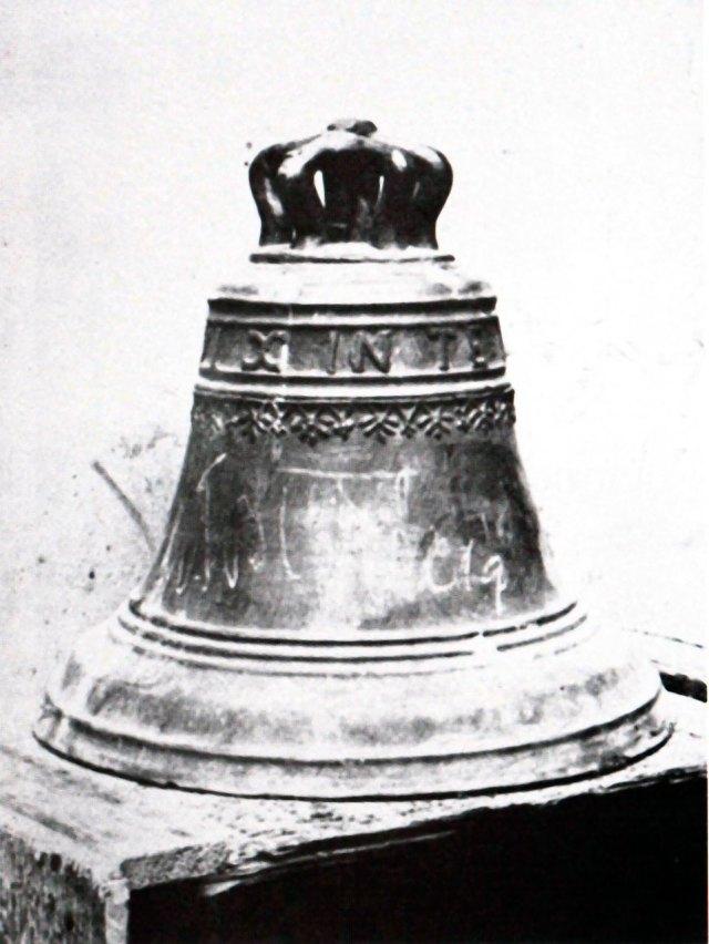 Костел Св.Казимира. Дзвін.  1917 р.
