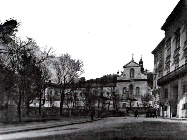 Костел Св.Казимира та навчальний заклад сестер Милосердя. 1939 р.