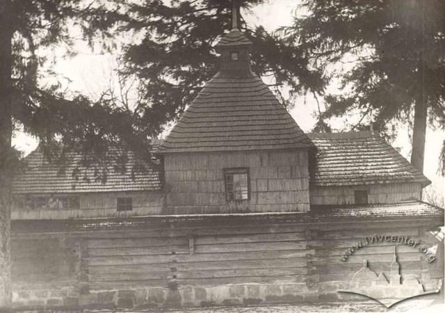 Церква Св. Трійці на Сихові, фото після 1932 р.