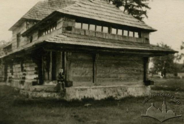 Церква Св. Трійці на Сихові, фото 1956 р.
