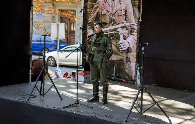 Сцена фестивалю «Військових традицій і звитяг Руси-України»