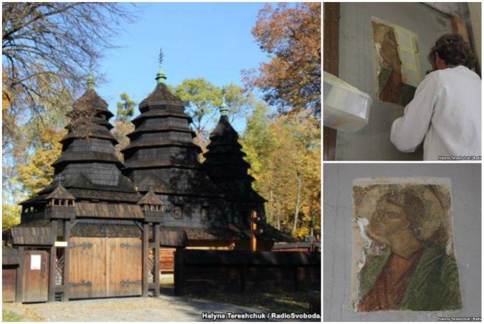 У Львові знайшли унікальні фрески капелана УПА Рафаїла Хомина