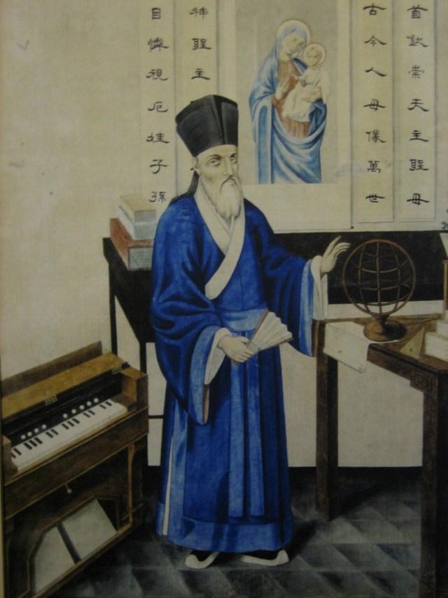 Відомий італійський єзуїт-місіонер Маттео Річчі в традиційному китайському одязі. Фото з https://en.wikipedia.org
