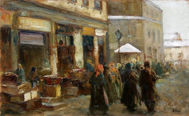 Ерно Ерб. Ринок у Львові, 1920-30 роки