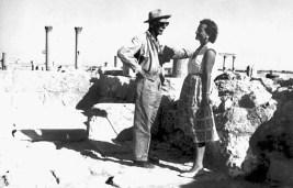 Зі своєю дружиною – Христиною Міхаловською, у експедиції