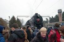 Подорож паровозом Л-3535 за маршрутом Львів-Брюховичі-Львів