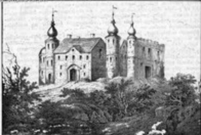 Резиденція в Баворові, належала Вацлаву Баворовському
