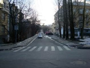 Вулиця Цегельського (вигляд із вул. Ген. Чупринки), 2015 рік